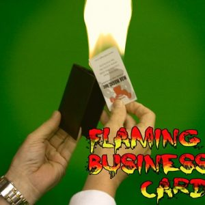 WALLET – FLAMING BUSINESS CARD